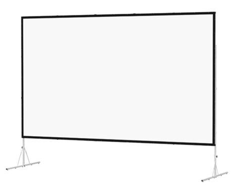 """Da-Lite 88609 79"""" x 140"""" Fast-Fold Deluxe Truss Frame Da-Mat Projection Screen 88609"""