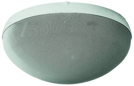 TOA H2EX H-2 2-Way Speaker, Wall/Ceiling Mount, 70V, White H2EX