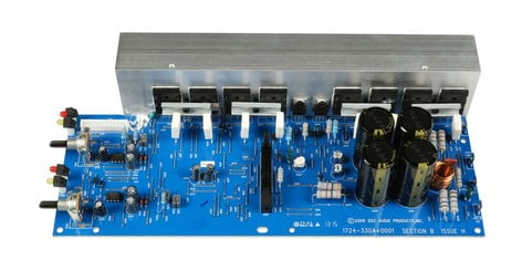qsc wp 014503 00 right channel amp pcb assembly for rmx1450 full compass systems. Black Bedroom Furniture Sets. Home Design Ideas