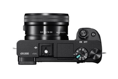 Sony ILCE6300L/B Alpha a6300 Mirrorless Digital Camera With 16-50mm Lens ILCE6300L/B