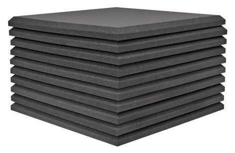 "Auralex 15SFP24CHA 10-Pack 2'x2'x1.5"" StudiofoamPro in Charcoal 15SFP24CHA"