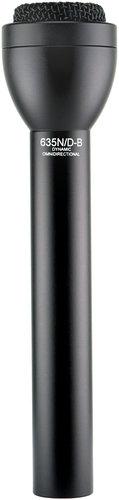 Electro-Voice 635N/D-B Omni Dynamic Microphone, Black 635N/D-BLACK