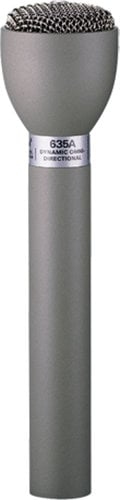 Electro-Voice 635A 635A Live Interview Mic, Gray finish 635A