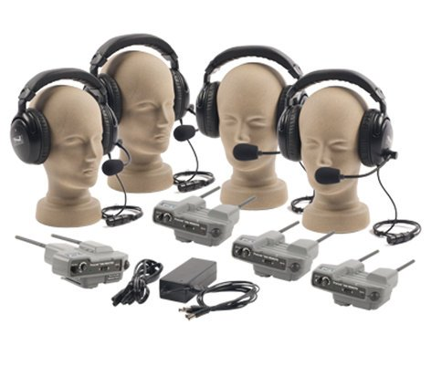 Anchor PRO-540 Pro-Link 500 Intercom System with 4 Headsets PRO-540-ANCHOR