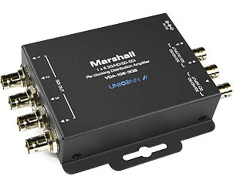 Marshall Electronics VDA-106-3GS  1x6 3GSDI Distribution Amplifier VDA-106-3GS