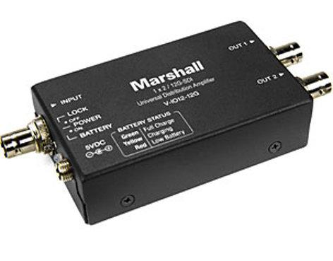 Marshall Electronics V-IO12-12G  1x2 12G Distribution Amplifier V-IO12-12G