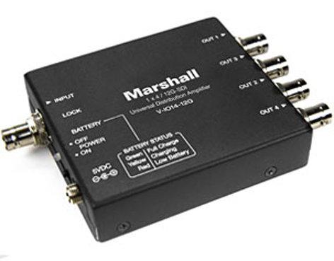 Marshall Electronics V-IO14-12G  1x4 12G Distribution Amplifier V-IO14-12G
