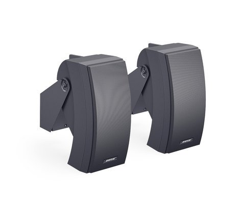 Bose 302A-BLACK Pair of 200W Pannaray Commercial Loudspeakers in Black 302A-BLACK