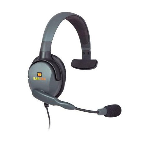 Eartec Co Max 4G Single Headset with connector cable for HUB Mini-Base HUBMXS