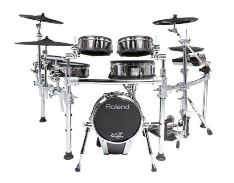 Roland TD-50KV Exclusive Custom V-Drum Electronic Drum Kit with FREE PD-108-BC Pad and MDH-25 Mount TD-50KV-FC