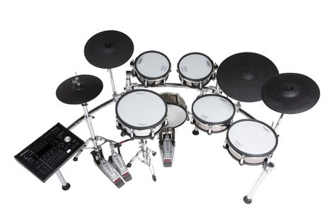 Roland TD-50KV-FC Exclusive Custom V-Drum Electronic Drum Kit with FREE PD-108-BC Pad and MDH-25 Mount TD-50KV-FC