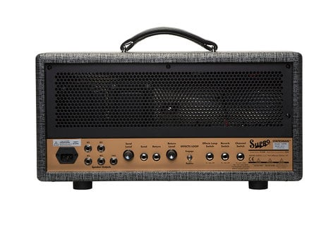 Supro 1699RH Statesman Head 2-Channel 50-watt Amplifier Head STATESMAN-HEAD