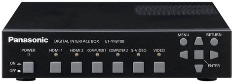 Panasonic ET-YFB100G [RESTOCK ITEM] Digital Interface Box for Digital Link-Ready Projectors ETYFB100G-RST-02