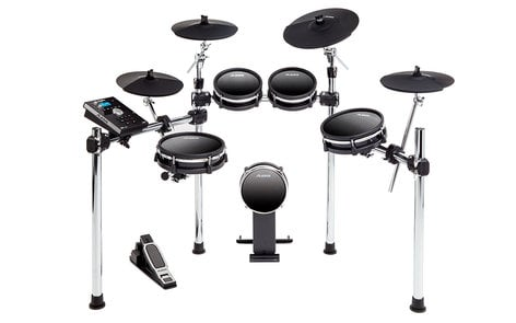 Alesis DM10MKII-STUDIO DM10 MKII Studio Kit 9-Piece Electronic Drum Kit with Mesh Heads DM10MKII-STUDIO