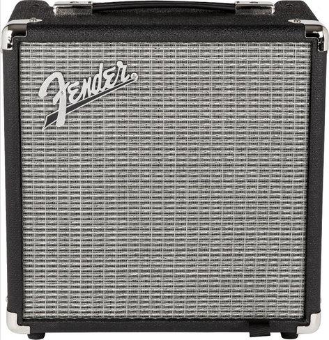 "Fender Rumble 15 v.3 [RESTOCK ITEM] 15W 1x 8"" Bass Combo Amplifier RUMBLE-15-V3-RST-01"