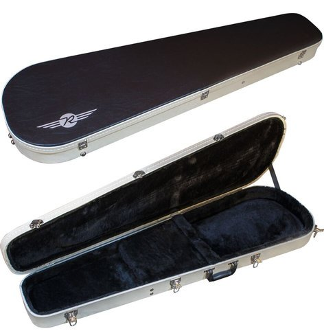 Reverend Guitars Bass Two-Tone Guitar Case Two-Tone Teardrop Case for Bass Guitar TBCASE