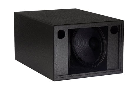 """EAW-Eastern Acoustic Wrks SB1000zP Vented Dual 18"""" Sub Bass Cones in a """"Clam Shell"""" Configuration, 1400W at 4-Ohms, Black SB1000ZP-BLACK"""