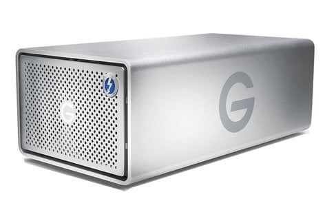 G-Technology 0G04093 G RAID 12TB Hard Drive - 2-Bay, 7200RPM, Dual Thunderbolt 2/USB 3.0 0G04093