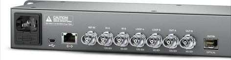 Blackmagic Design TERANEXEXP12GDL [RESTOCK ITEM] Teranex Express SD/HD/Ultra HD Broadcast Up/Down Converter TERANEXEXP12G-RST-01