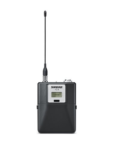 Shure AD1 Axient Digital Bodypack with TA4F Connector AD1-SHU
