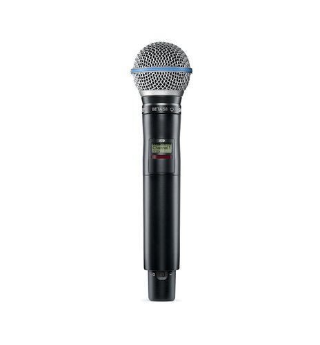 Shure AD2/BETA58 Axient Digital Handheld Transmitter with Beta 58 Microphone Capsule AD2/BETA58