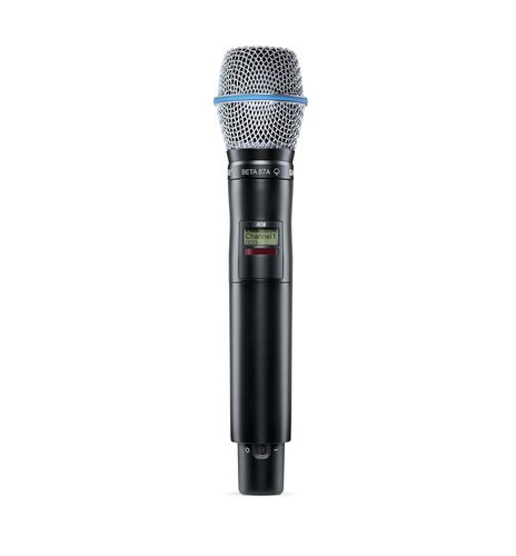 Shure AD2/BETA87A Axient Digital Handheld Transmitter with Beta 87A Capsule AD2/BETA87A