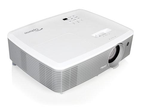 Optoma W400+ 4000 Lumen WXGA Presentation Projector with I/O and Zoom Lens W400+