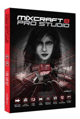Acoustica Mixcraft 8 Pro Studio [EDU DISCOUNT - BOXED] Music Production Software MIXCRAFT-8-PRO-EDU-B