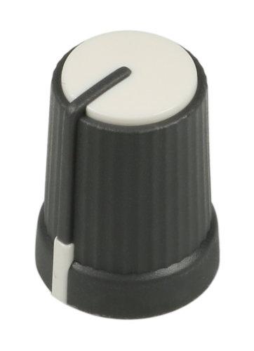 Soundcraft KA0453  White Top 10mm Rotary Knob for FX16ii KA0453