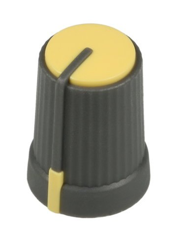 Soundcraft KA0457  Yellow Rotary Knob for EFX8 KA0457