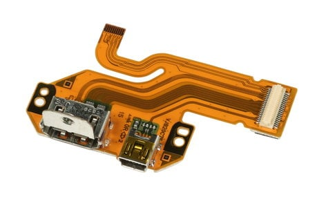 Panasonic VEP20C75A  Side Jack PCB Assembly with HDMI for AG-HMC40PJ VEP20C75A
