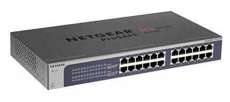 Netgear JGS524E ProSAFE Plus 24-Port Gigabit Ethernet Switch JGS524E-200NAS