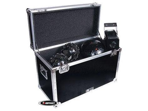 Odyssey FZSLDC2W  Flight Zone Utility Trunk Touring Case with Wheels FZSLDC2W