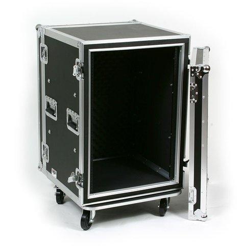 Elite Core SC16U-20  16RU ATA Shock Amp Rack with Casters SC16U-20