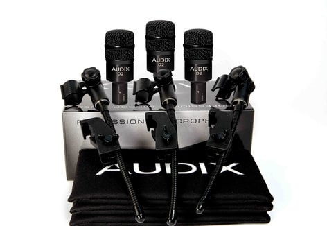 Audix D2-TRIO  Drum Mic Bundle  D2-TRIO