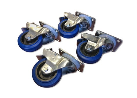 RCF AC-4CASTER-SET-LOCK  Wheel Kit with 4 Locking Casters AC-4CASTER-SET-LOCK