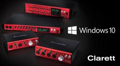Focusrite Clarett 2Pre 10-In / 4-Out Thunderbolt Interface with 2 Clarett Microphone Preamps CLARETT-2PRE