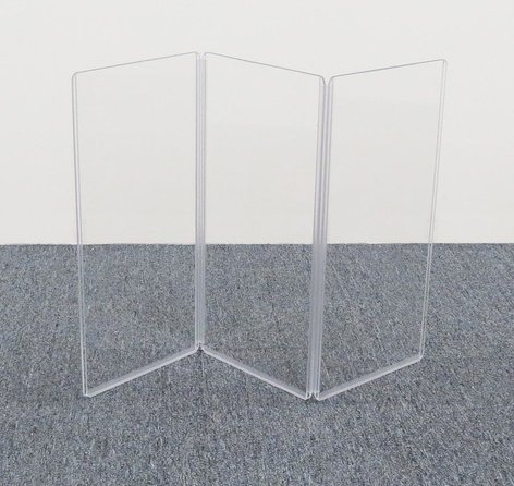 """Clearsonic A1224X3  36"""" x 24"""" 3-Section Clear Acoustic Isolation Panel A1224X3"""