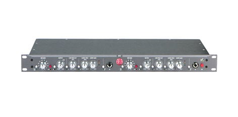 Audio Engineering Assoc RPQ2  2-Channel Preamp 1RU Ribbon Mic Preamp with EQ and DI RPQ2