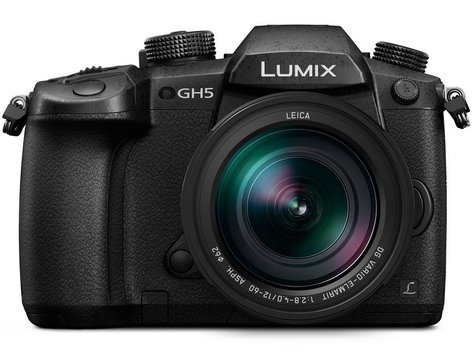 Panasonic DC-GH5LK Mirrorless Micro Four Thirds Digital Camera with 12-60mm Lens DC-GH5LK