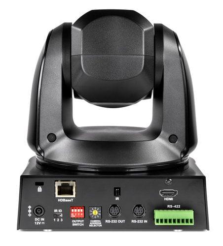 Marshall Electronics CV612HT-4K 4K HDBaseT and HDMI PTZ 12x Optical Zoom Camera in Black BAV-CV612HT-4K