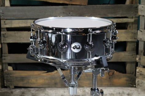"DW DRVS5514SPC [SUMMERFEST] 14""x5.5"" Collectors Series Steel Chrome Polished Snare DRVS5514SPC-SF"