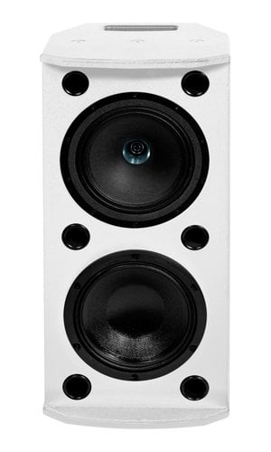 "Tannoy VXP8.2-WH  1000W 8"" Dual Concentric Powered Loudspeaker, White VXP8.2-WH"