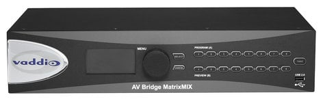 Vaddio AV-BRIDGE-MATRIX-MIX  Multipurpose AV Switcher AV-BRIDGE-MATRIX-MIX