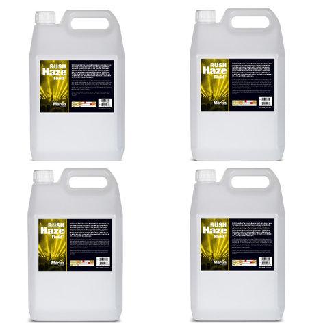 Martin Professional RUSH-HAZ-FLUID-4X2.5  4-pack of 2.5L RUSH Haze Fluid RUSH-HAZ-FLUID-4X2.5