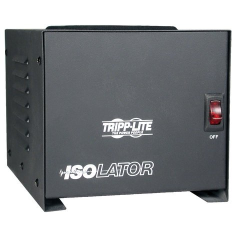 Tripp Lite IS1000 Isolator Series 120V 1000W Isolation Transformer-Based Power Conditioner IS-1000