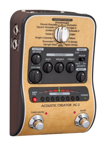 Zoom AC-2 Acoustic Creator Preamp AC-2