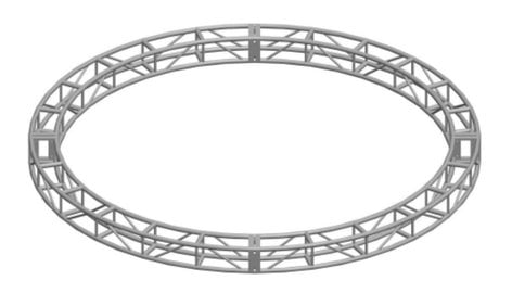 Show Solutions Inc SP12C208 20 ft Diameter Truss Circle in 8 Sections SP12C208
