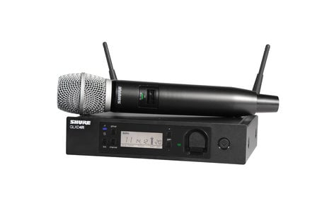 Shure GLXD24R/SM86 Advanced Handheld Wireless Vocal System with SM86 Capsule GLXD24R/SM86