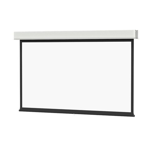 "Da-Lite 34718 69"" x110"" Advantage Manual Screen with CSR 34718"